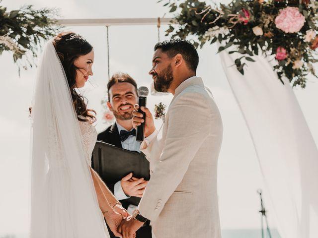 La boda de Paúl y Blanca en La/villajoyosa Vila Joiosa, Alicante 44