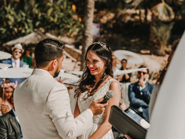 La boda de Paúl y Blanca en La/villajoyosa Vila Joiosa, Alicante 45
