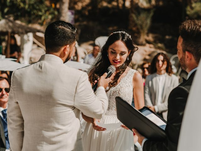 La boda de Paúl y Blanca en La/villajoyosa Vila Joiosa, Alicante 48