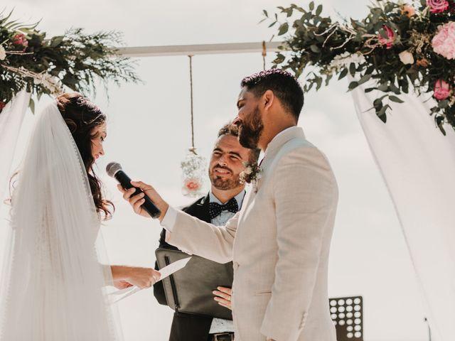 La boda de Paúl y Blanca en La/villajoyosa Vila Joiosa, Alicante 49