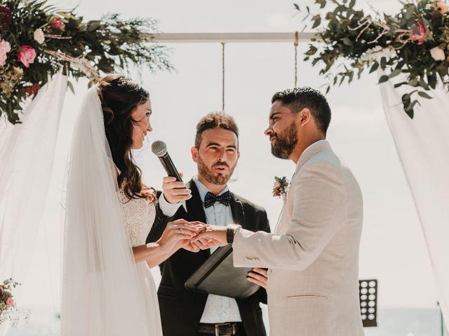 La boda de Paúl y Blanca en La/villajoyosa Vila Joiosa, Alicante 51