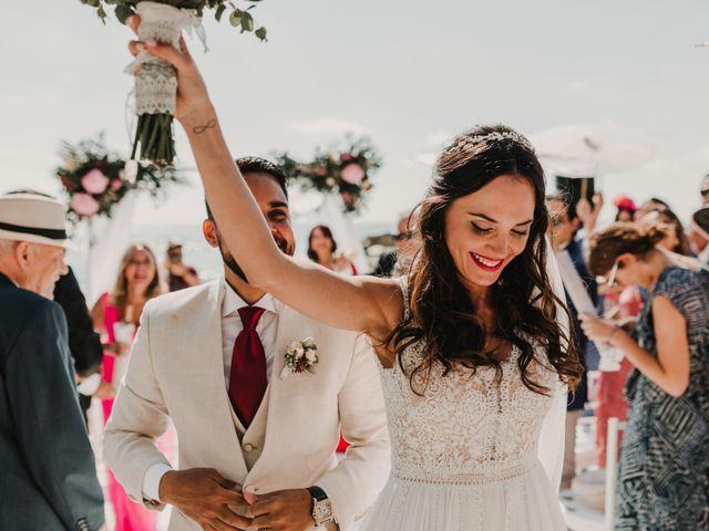 La boda de Paúl y Blanca en La/villajoyosa Vila Joiosa, Alicante 58