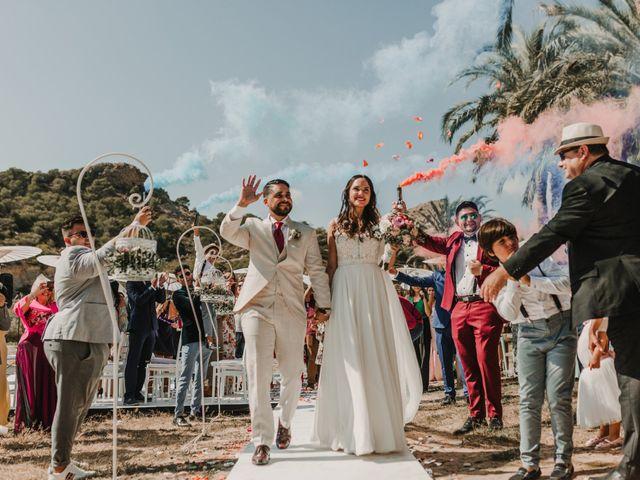 La boda de Paúl y Blanca en La/villajoyosa Vila Joiosa, Alicante 59