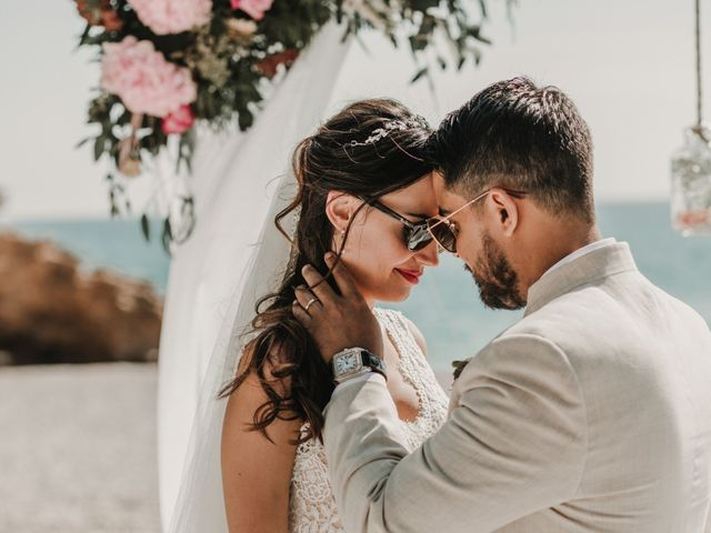 La boda de Paúl y Blanca en La/villajoyosa Vila Joiosa, Alicante 63