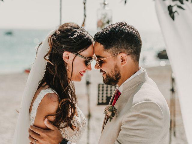 La boda de Paúl y Blanca en La/villajoyosa Vila Joiosa, Alicante 64
