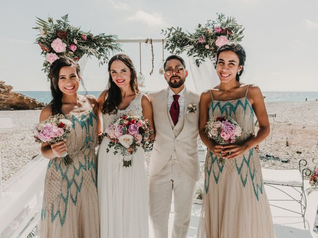 La boda de Paúl y Blanca en La/villajoyosa Vila Joiosa, Alicante 65