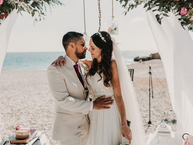 La boda de Paúl y Blanca en La/villajoyosa Vila Joiosa, Alicante 67