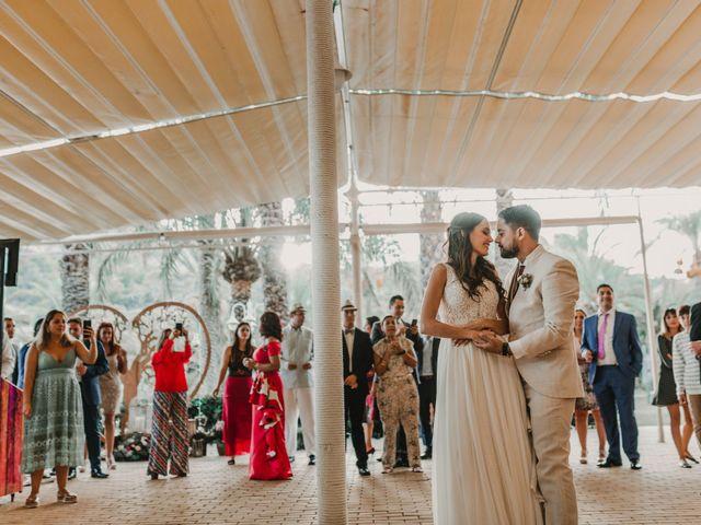 La boda de Paúl y Blanca en La/villajoyosa Vila Joiosa, Alicante 72