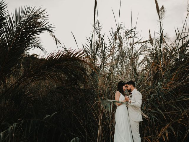 La boda de Paúl y Blanca en La/villajoyosa Vila Joiosa, Alicante 75