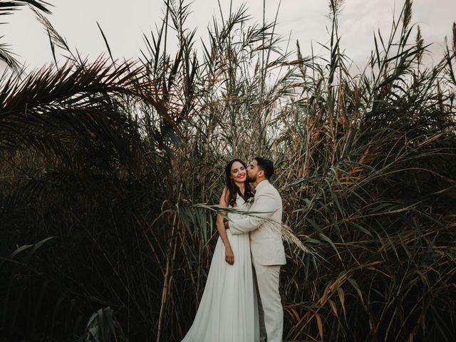 La boda de Paúl y Blanca en La/villajoyosa Vila Joiosa, Alicante 76