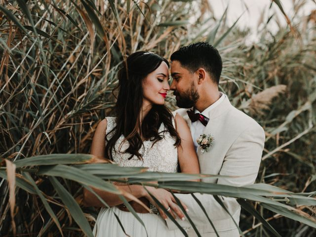 La boda de Paúl y Blanca en La/villajoyosa Vila Joiosa, Alicante 2