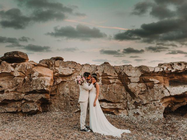 La boda de Paúl y Blanca en La/villajoyosa Vila Joiosa, Alicante 79