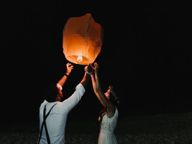 La boda de Paúl y Blanca en La/villajoyosa Vila Joiosa, Alicante 85