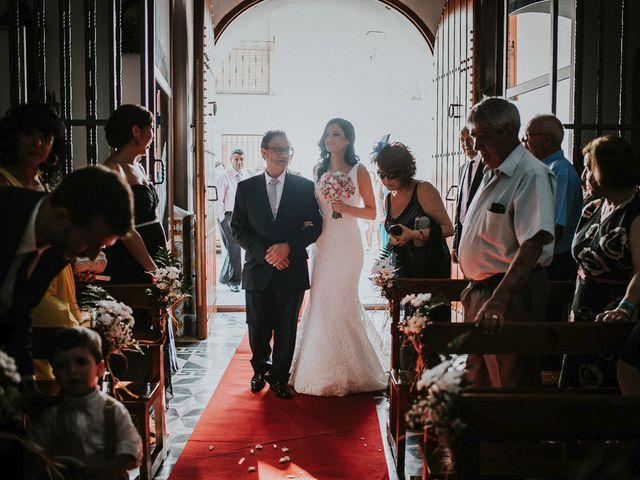La boda de Joaquín y Esther en Salvaleon, Badajoz 9