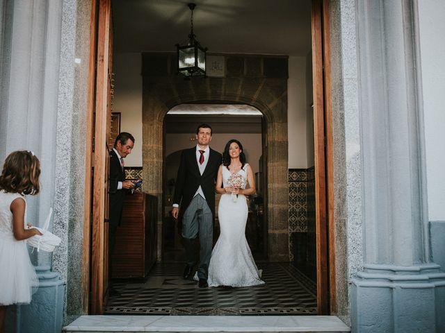 La boda de Joaquín y Esther en Salvaleon, Badajoz 15