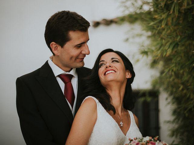 La boda de Joaquín y Esther en Salvaleon, Badajoz 1