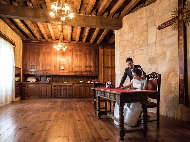 La boda de Erik y Leticia en Santa Gadea Del Cid, Burgos 13