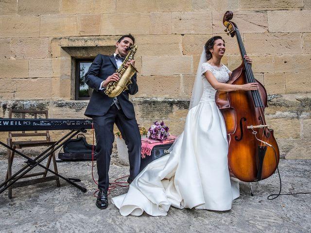 La boda de Erik y Leticia en Santa Gadea Del Cid, Burgos 15