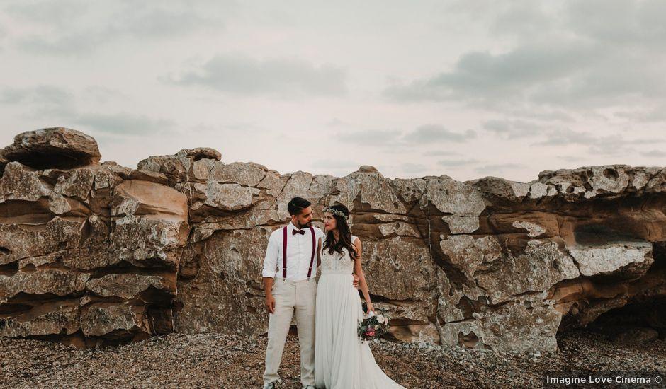 La boda de Paúl y Blanca en La/villajoyosa Vila Joiosa, Alicante