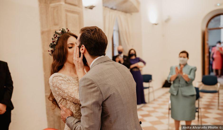 La boda de Javier y Marta en Cáceres, Cáceres