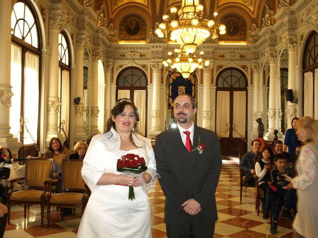 La boda de Daniel y María Elena en Málaga, Málaga 1
