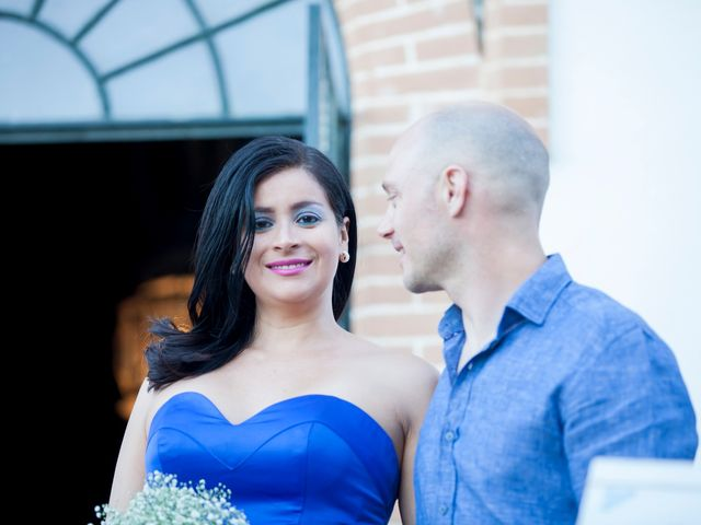 La boda de Viviane y Pablo