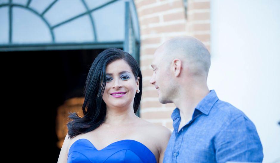 La boda de Pablo y Viviane en Gerena, Sevilla