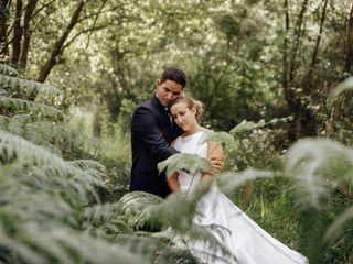 La boda de Mèlanie y Benja