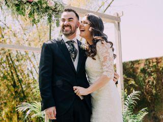 La boda de Lydia y Aarón