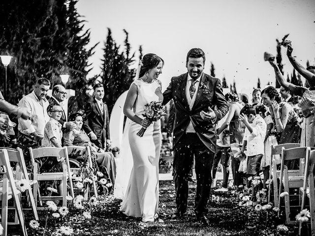 La boda de David y Mamen en Almendralejo, Badajoz 1