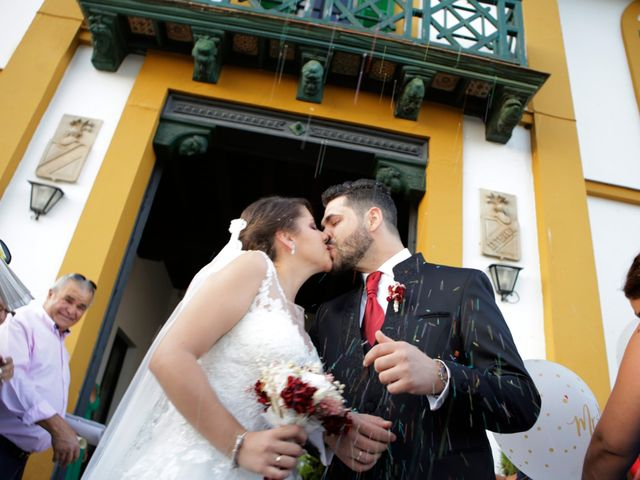 La boda de Mª Ángeles y Manuel