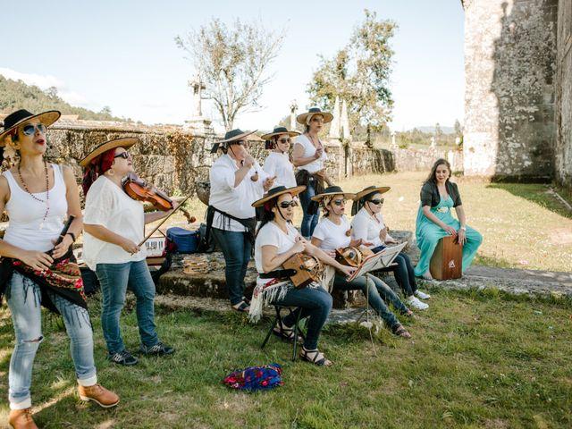 La boda de Benja y Mèlanie en Boiro (Boiro), A Coruña 37