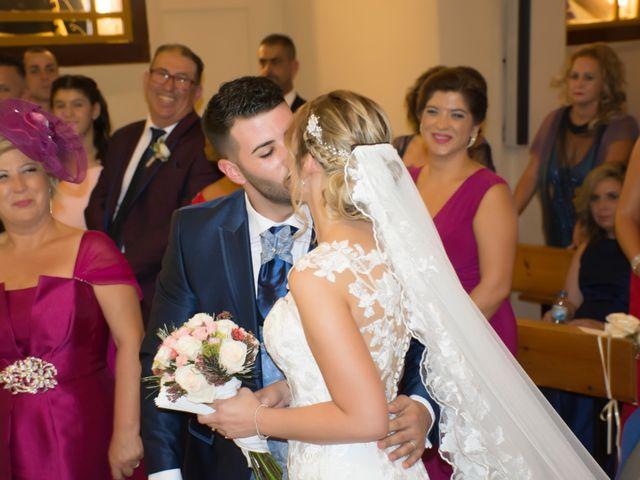 La boda de Sergio y Jessica en Almería, Almería 33