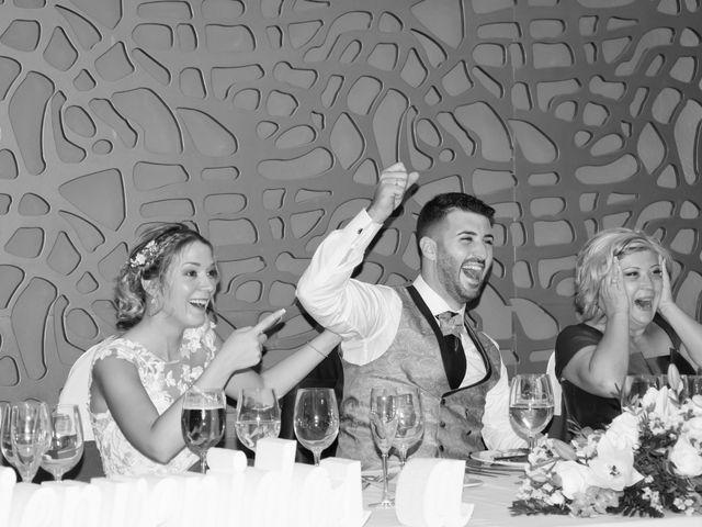 La boda de Sergio y Jessica en Almería, Almería 36