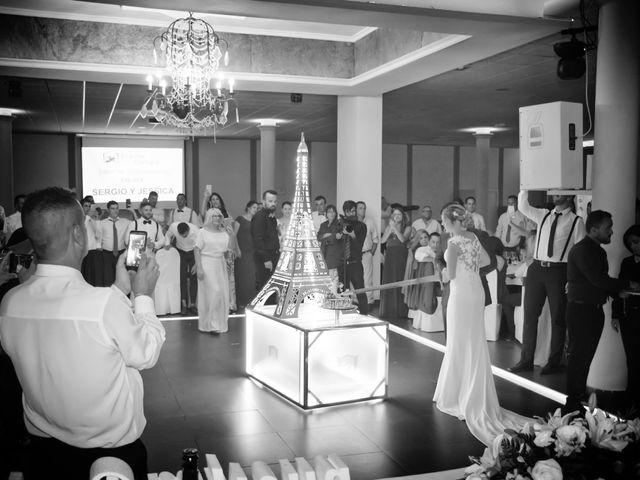 La boda de Sergio y Jessica en Almería, Almería 38