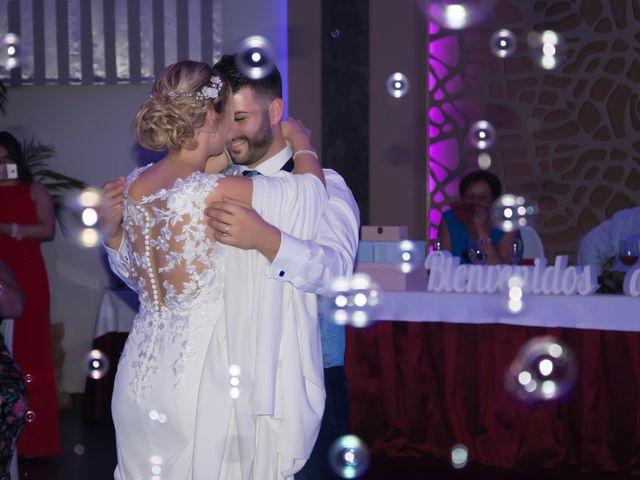 La boda de Sergio y Jessica en Almería, Almería 43