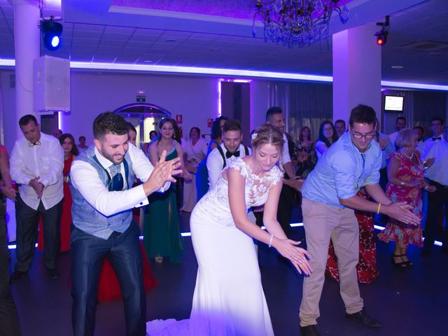 La boda de Sergio y Jessica en Almería, Almería 45