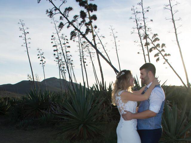 La boda de Sergio y Jessica en Almería, Almería 55