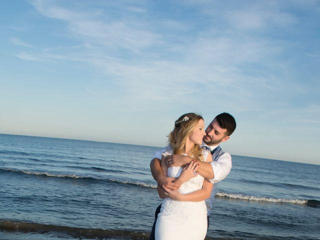La boda de Sergio y Jessica en Almería, Almería 56