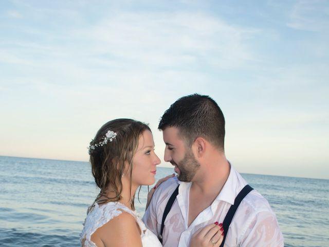 La boda de Sergio y Jessica en Almería, Almería 62