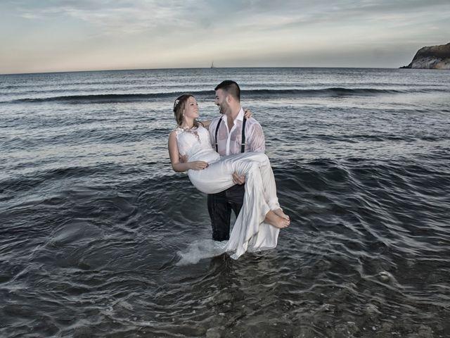 La boda de Sergio y Jessica en Almería, Almería 63