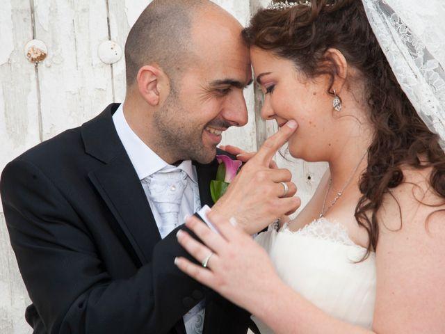 La boda de Juan y Cristina en Loeches, Madrid 1