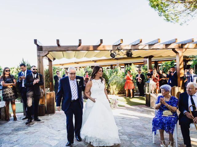 La boda de Javier y Marta en El Vellon, Madrid 41
