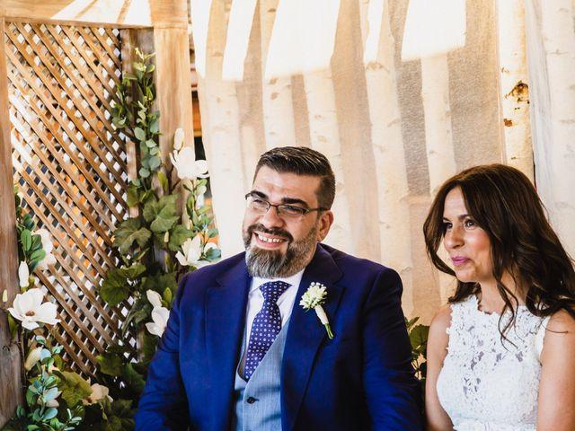 La boda de Javier y Marta en El Vellon, Madrid 43