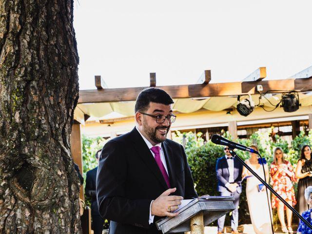 La boda de Javier y Marta en El Vellon, Madrid 45