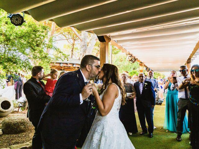 La boda de Javier y Marta en El Vellon, Madrid 61
