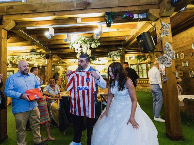 La boda de Javier y Marta en El Vellon, Madrid 76