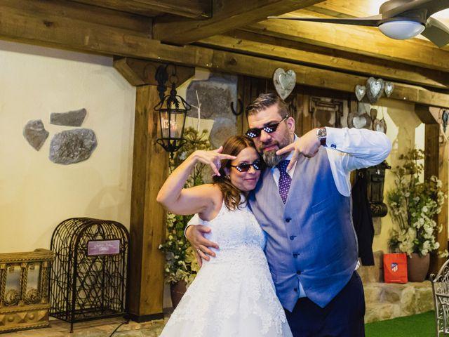 La boda de Javier y Marta en El Vellon, Madrid 78