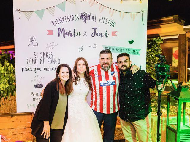 La boda de Javier y Marta en El Vellon, Madrid 90