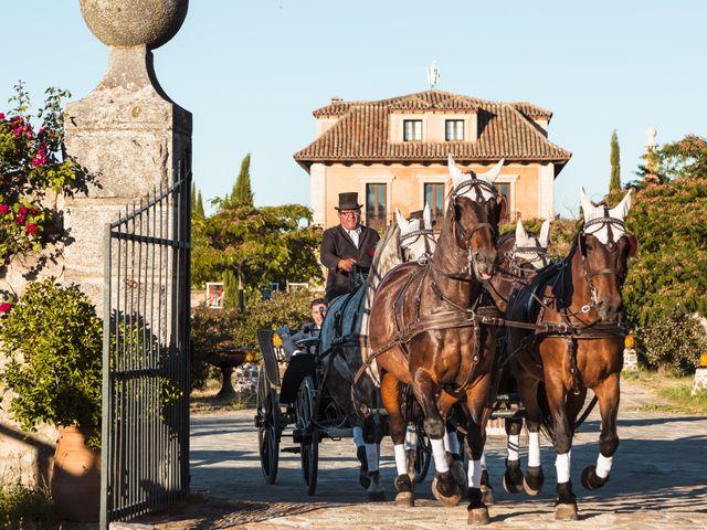 La boda de Carlos y Sandra en Mangiron, Madrid 27